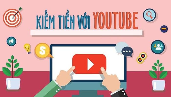 kiếm tiền online youtube