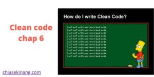 Clean code tiếng việt chap 6 – ĐỐI TƯỢNG VÀ  CẤU TRÚC DỮ LI�