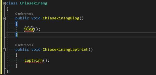 solid viết code