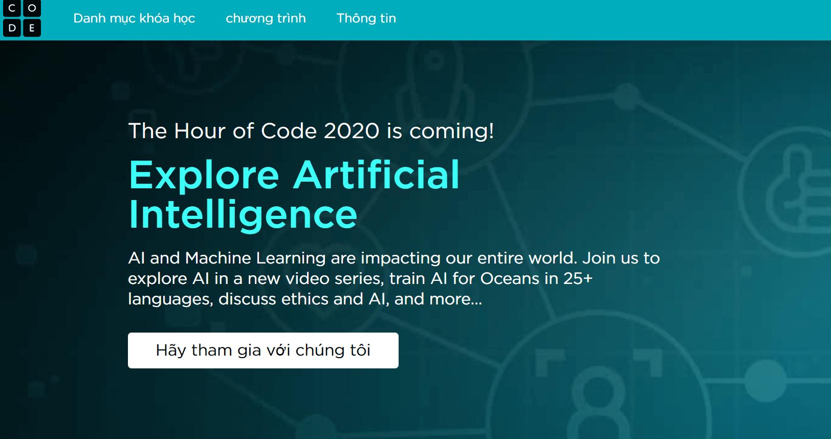 Code.org học online