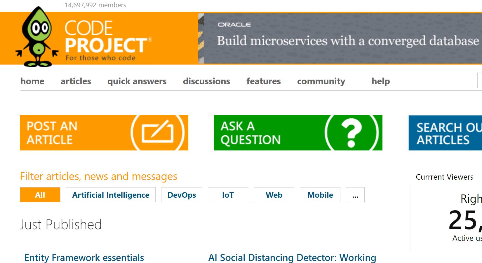 Code Project web dành cho lập trình