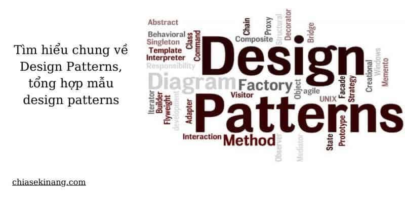 mẫu thiết kế cho phần mềm