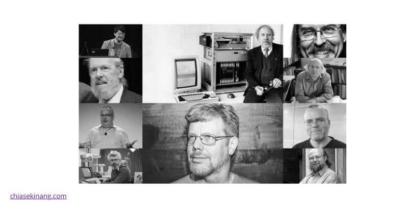 những người sáng lập ngôn ngữ lập trình đầu