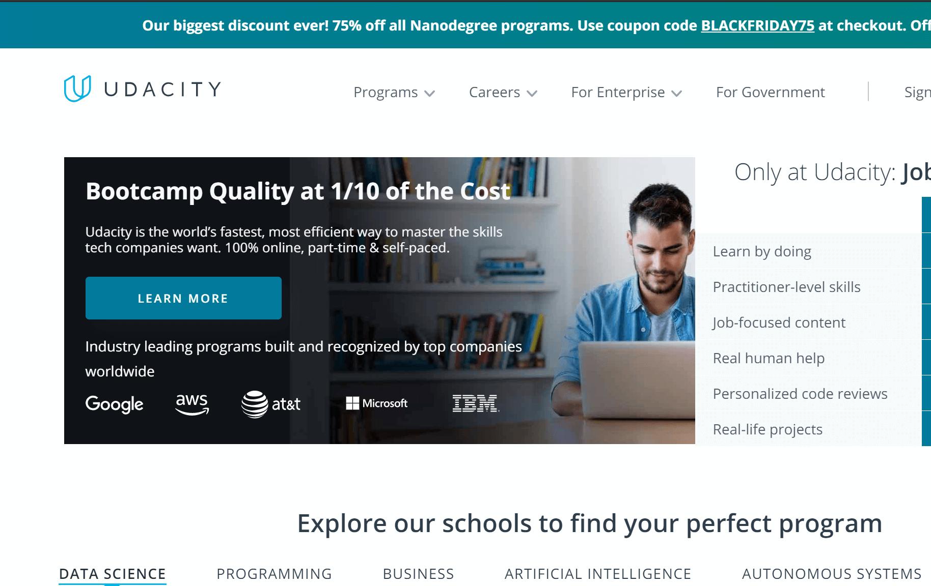 web Udacity học lập trình