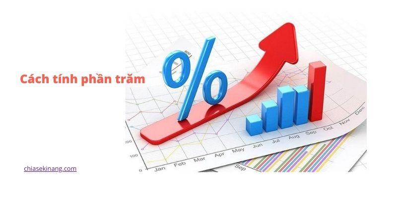 Cách tính phần trăm(%) hiệu quả, tính phần trăm online nhanh nhất