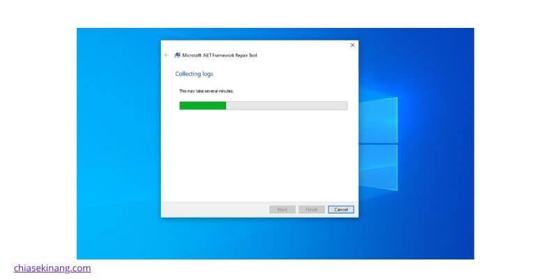 công cụ .NET Framework Repair của Microsoft