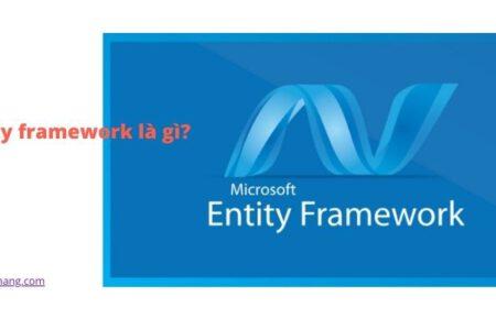 entity framework là gì