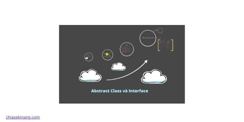 phân biệt interface và abstract class