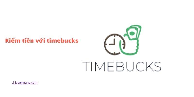 kiếm tiền timebucks
