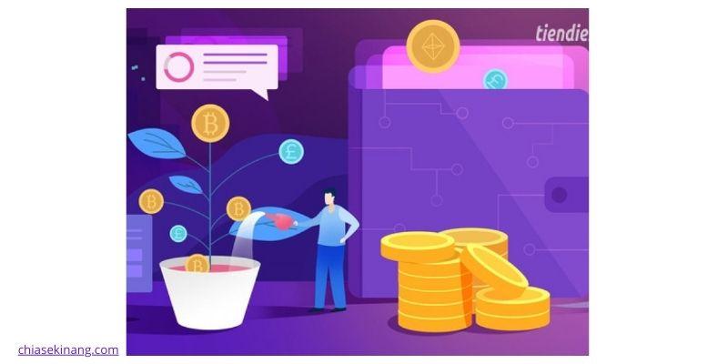 giá trị của tiền điện tử