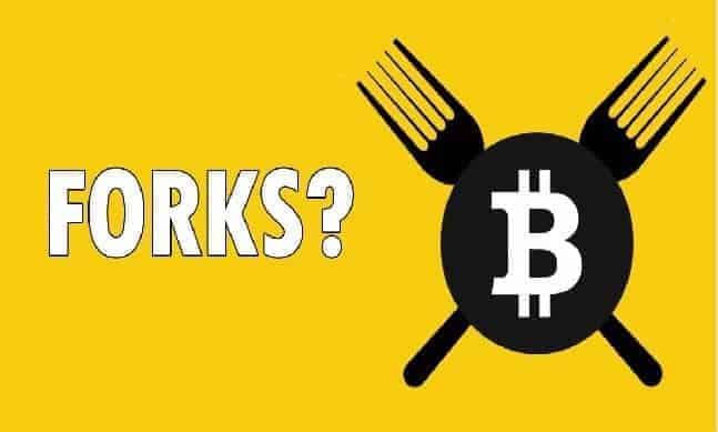 lịch sử phát triển của bitcoin forks