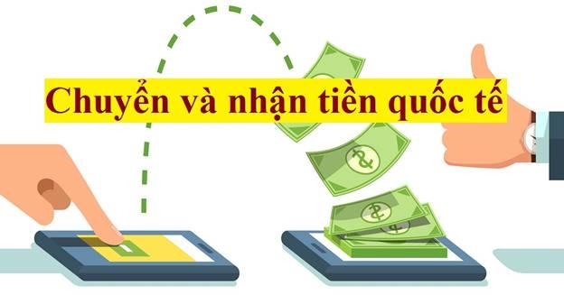 nhận và chuyển tiền quốc tế