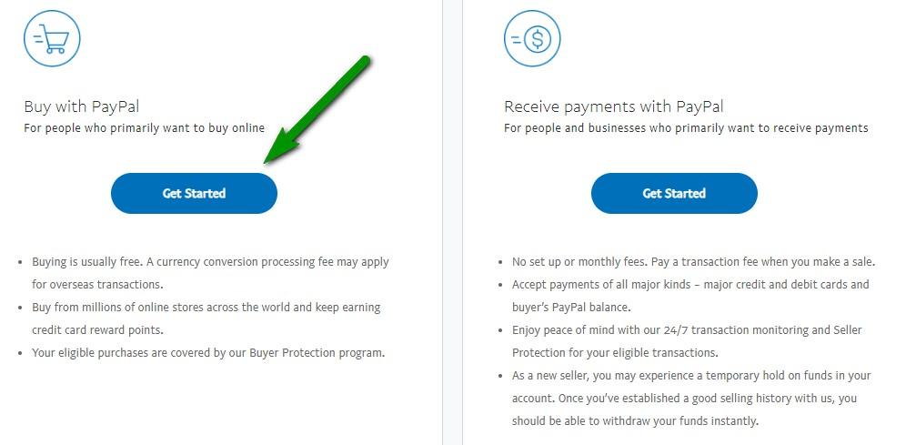tài khoản miễn phí paypal