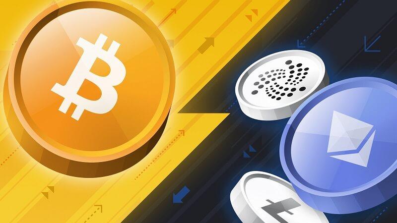 so sánh bitcoin và altcoin