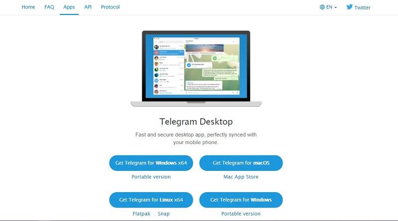 telegram cho máy tính