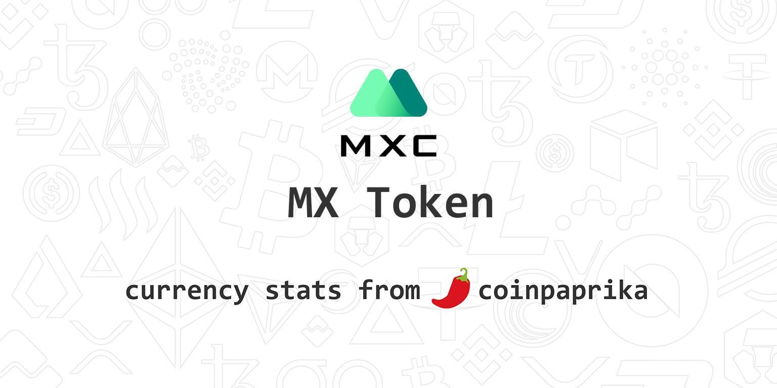 thông tin mx token