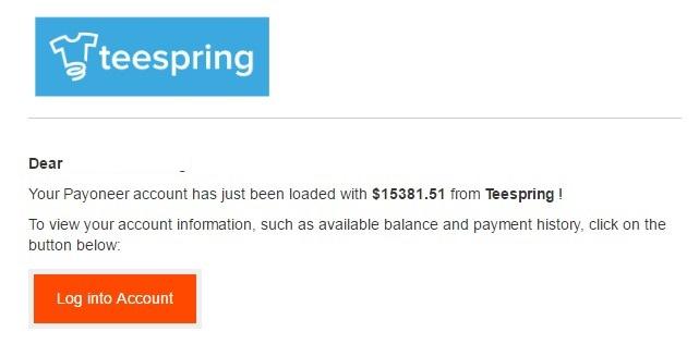 bán áo thun Teespring