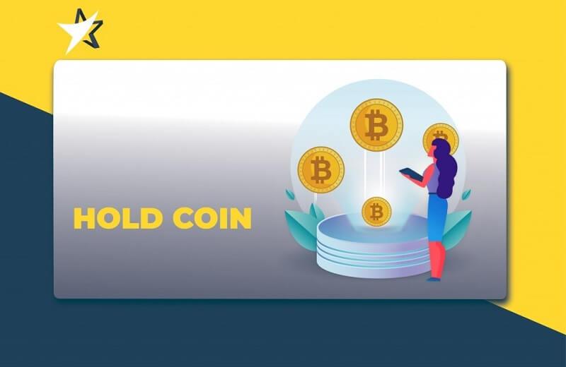 cách hold coin