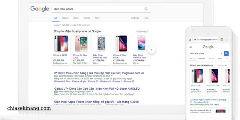 google ads feed và hành trình khách hàng